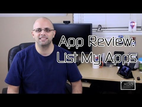 List My Apps, Lists Your Apps! -- Android App Review