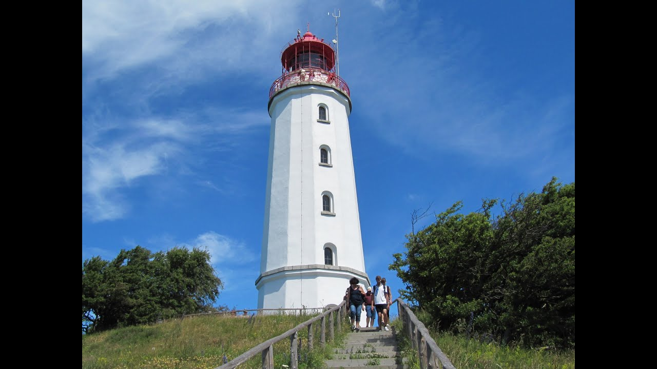 r gen hiddensee mit leuchtturm dornbusch lighthouse dornbusch youtube. Black Bedroom Furniture Sets. Home Design Ideas