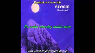 Storm - Nagellstev (Subtítulos en noruego, mapudungun y español)