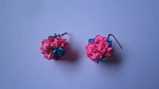 Handmade Jewelry - Modular Origami Paper Globe Earrings