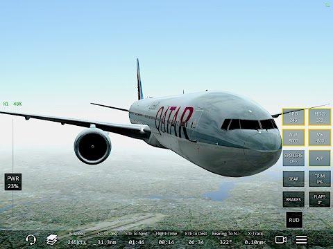 Infinite Flight Boeing 777-300.Multiplayer.ATC.SoCal. KSAN-KLAX