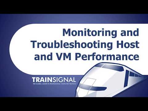 Monitoring & Troubleshooting Host VM Performance in vMware vSphere