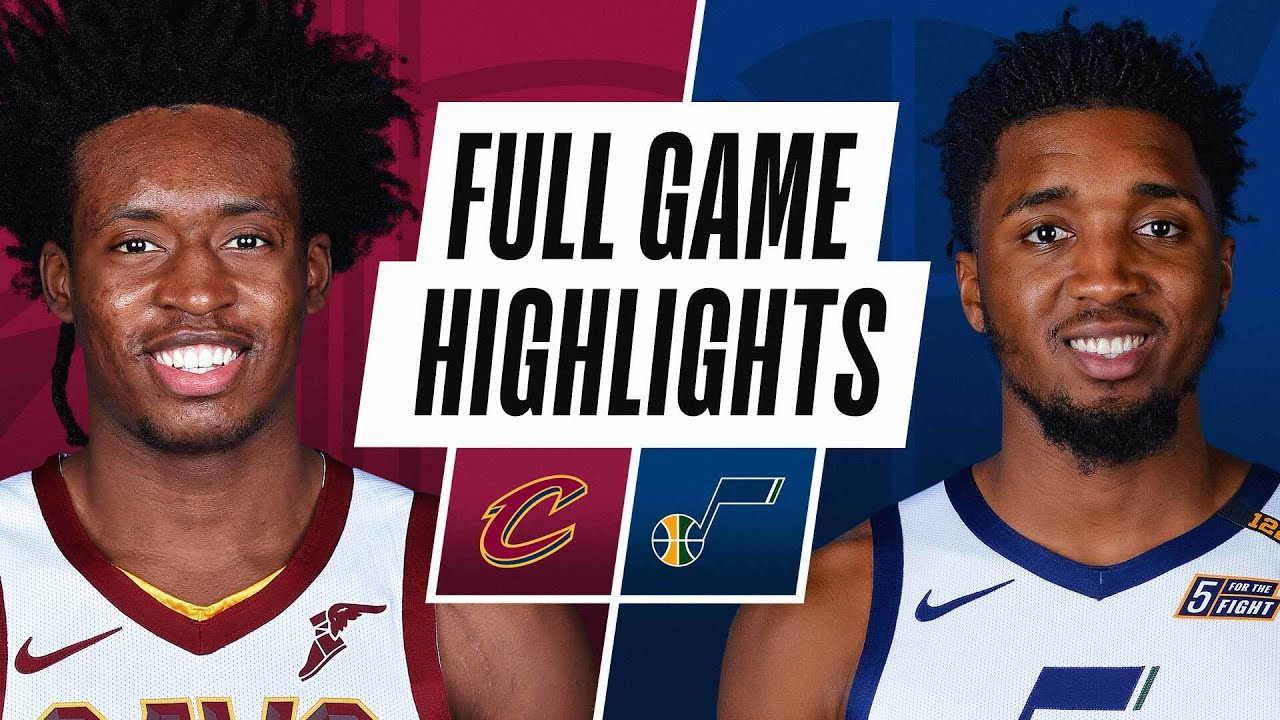 CAVALIERS at JAZZ | FULL GAME HIGHLIGHTS | March 29, 2021