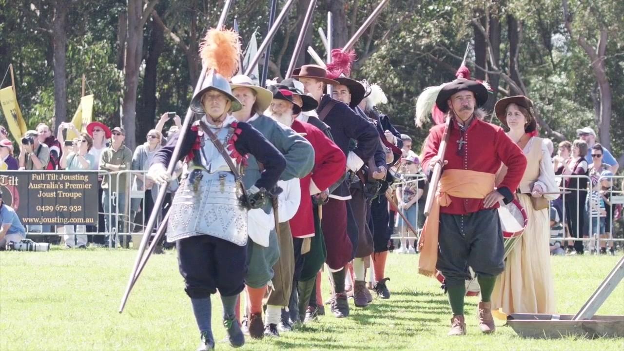Medieval reenactment melbourne