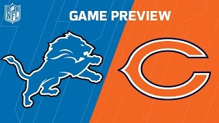 Lions vs. Bears (Week 4 Preview) | Dave Dameshek Football Program | NFL