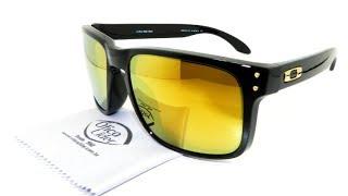 Óculos de Sol Oakley Holbrook 24k Iridium 9102l 08 55 Espelhado ... 175d91baff