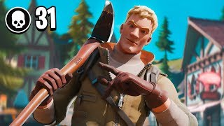 31 Kills Solo VS Squads (Too Easy...)