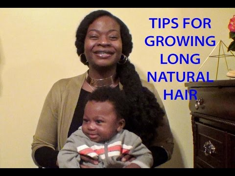 Updated Tips for Growing Long Natural Hair