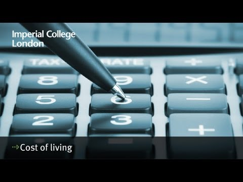 Cost of living - Just how much does it cost to be a student in London