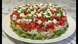 """Прелестный Салат """"Триумф""""  Нежный, Свежий и Вкусный! / Салат на Новый Год  2020 / Triumph Salad"""