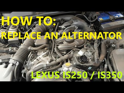 Ep 47 – How to replace an alternator. LEXUS IS250 IS350