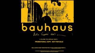 Bauhaus -Bela Lugosi