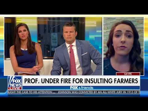 "Campus Reform's Bernadette Tasy responds to prof slamming ""Stupid Farmers"""
