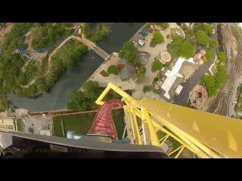 Top Thrill Dragster On-ride Front Seat (HD POV) Cedar Point