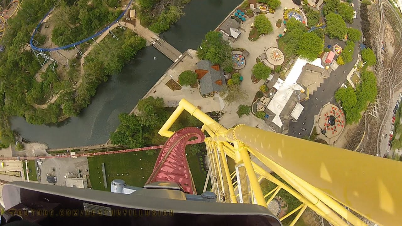 Top Thrill Dragster On... Millennium Force Drop
