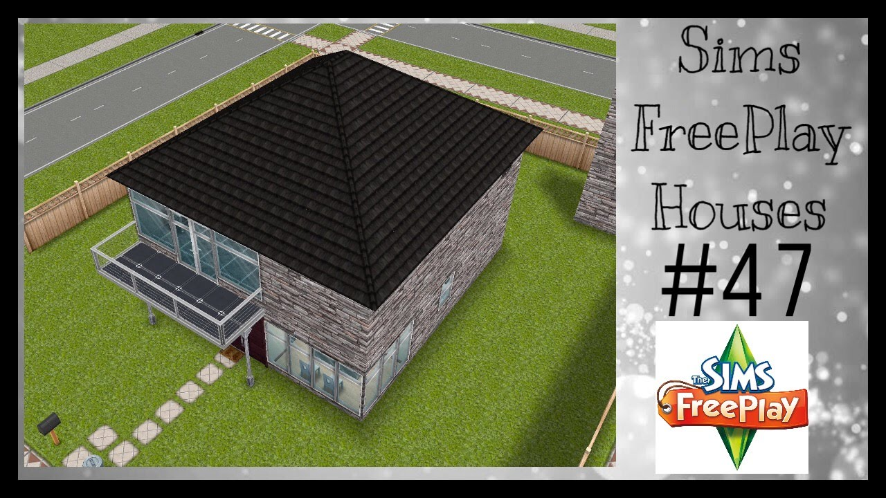 BACHELOR PAD Sims FreePlay House Idea 47 YouTube