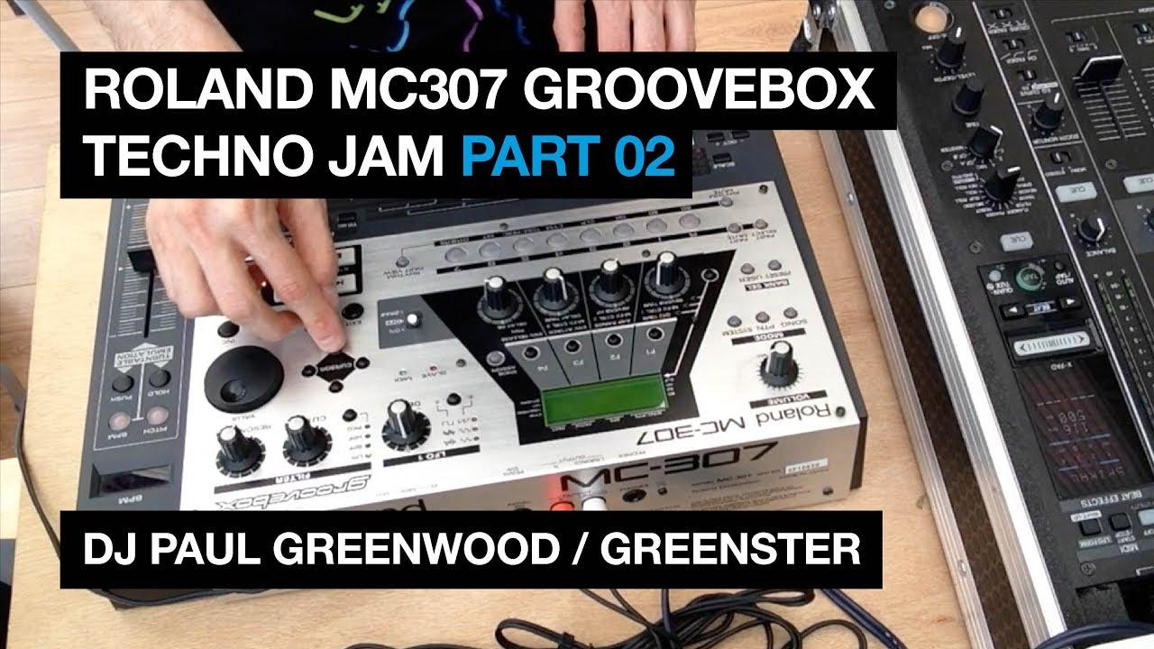 roland mc307 live jam 002 techno drum machine beat making youtube. Black Bedroom Furniture Sets. Home Design Ideas