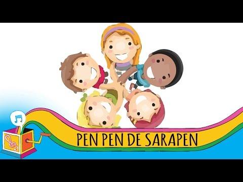Pen Pen De Sara Pen   Tagalog Children's Song   Karaoke
