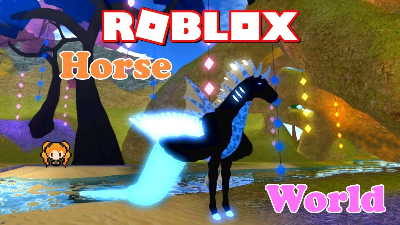 Roblox Horse World Major Update With Neon Mermaid Aqua Horse With Wings Weird Roleplay Stories Youtube