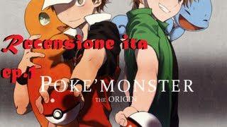 Repeat youtube video ITA Pokemon: Pocket Monster The Origin ! Review ep.1 (Come se fosse ancora il 1996)