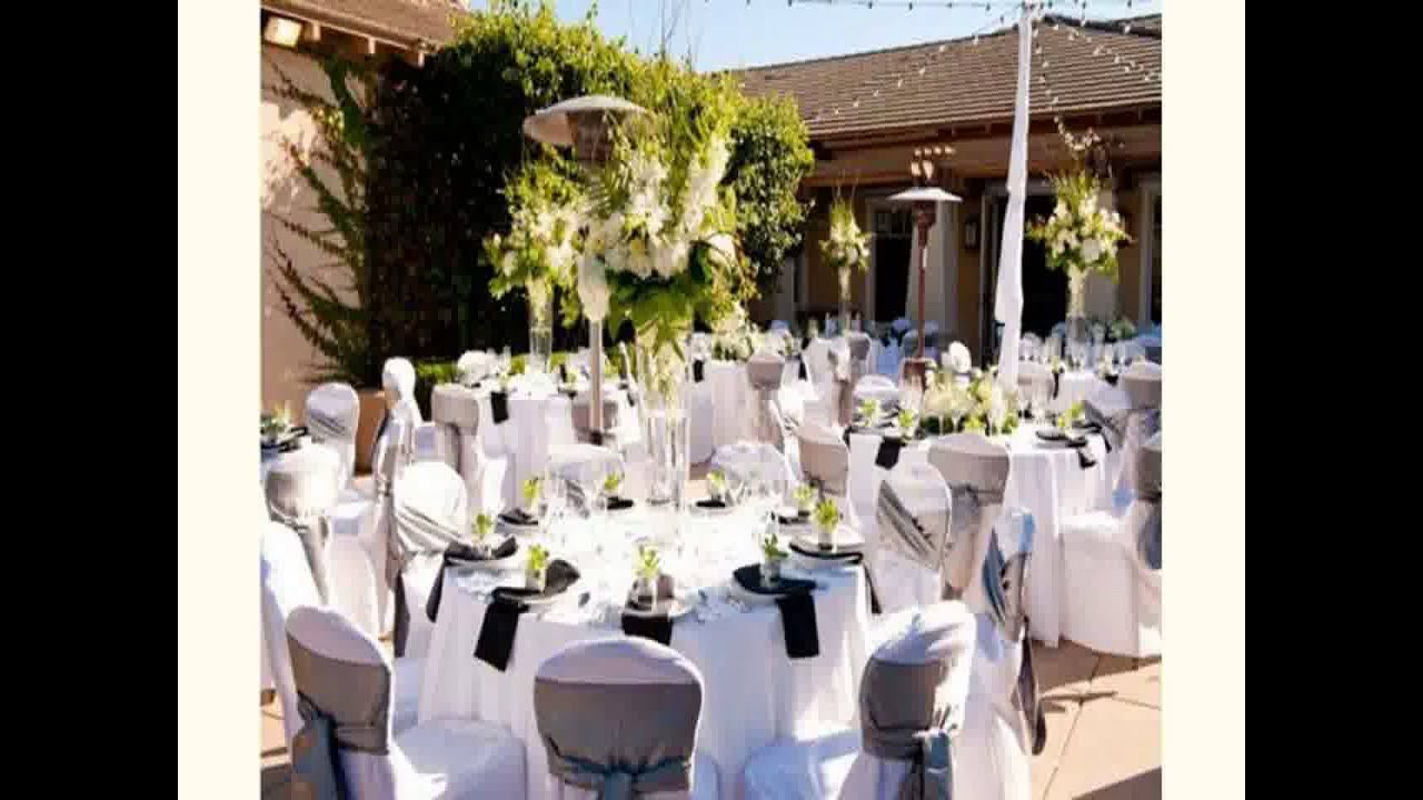 Best wedding reception decoration youtube for Wedding event decorators