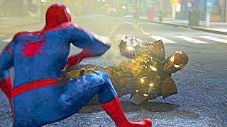 Spider-Man PS4: Shocker Boss Fight - Shocker Escapes Prison Spectacular Difficulty 4k Ultra HD 2160p