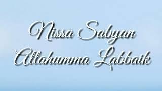 Nissa Sabyan - Allahumma Labbaik (Official Lyrics)
