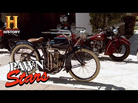 Best of Pawn Stars: Collection of Restored Indian Motorcycles