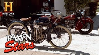 Best of Pawn Stars: Collection of Restored Indian Motorcycles …
