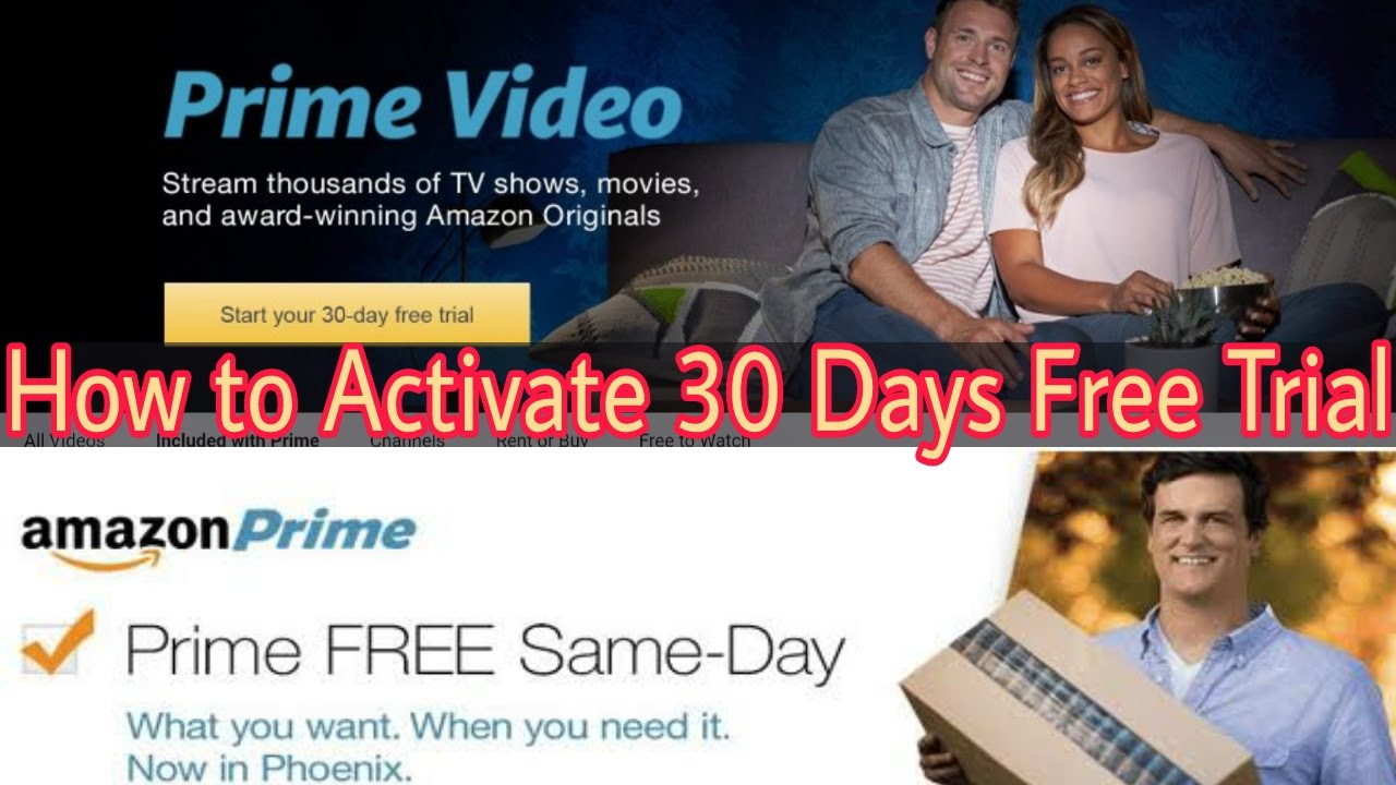 amazon prime instant video one month free trial
