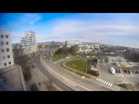 ► Time Lapse | View from Office | Bratislava | Slovakia | HD