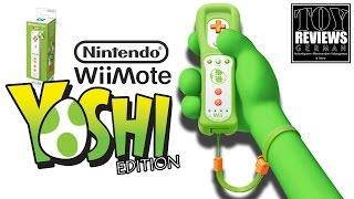Nintendo Wii Remote Yoshi Edition (Wiimote) | German Unboxing (Deutsch)