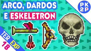 Novo Arco Bee's Knees e Skeletron no Expert!  • Terraria 1.3 EXP #18