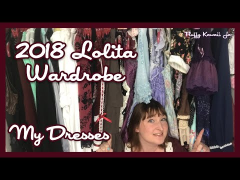 Lolita Wardrobe Post 2018 Part 2: Dresses and skirts