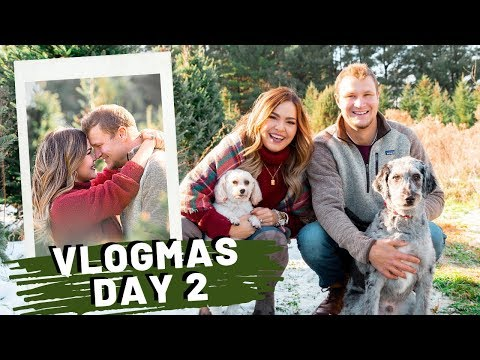VLOGMAS Day 2 | The One With The Tree Farm