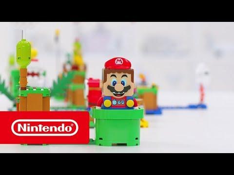 Preparem-se para as aventuras de LEGO Super Mario!