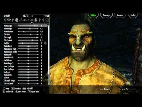 Skyrim: Building Faces - The Craftsman