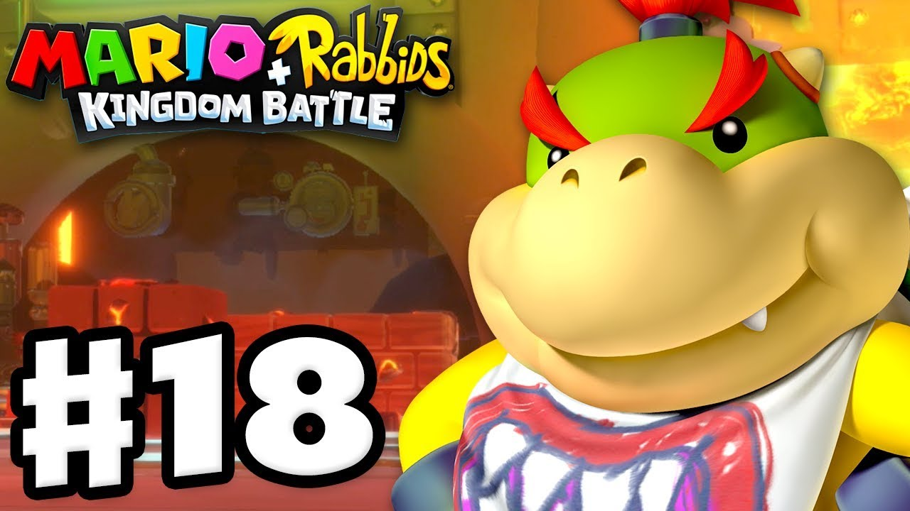 mario-rabbids-kingdom-battle-gameplay-walkthrough-part-18-bowser-jr-midboss-fight