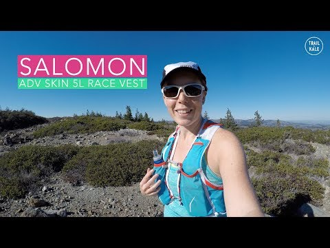 196328ba65e Salomon Race Vest Review: Advanced ADV Skin 5l Set - YouTube