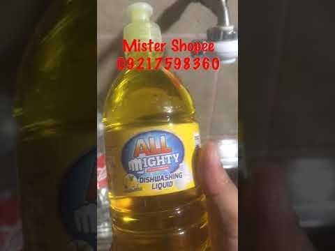 Mighty Dishwashing Liquid
