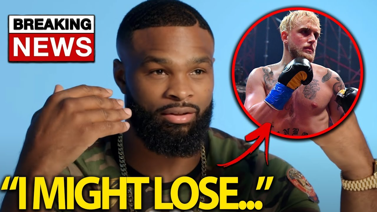 Tyron Woodley Reacts To Jake Paul NEW Training Footage