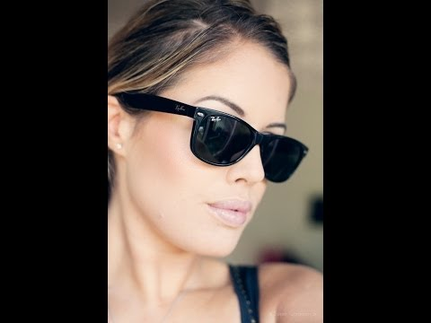 ray ban rb2140 original wayfarer sunglasses 50mm  Authentic Ray Ban Original Wayfarer Unboxing Rb2140 Hd