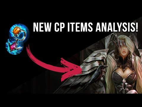 NEW CP ITEMS ANALYSIS + NEW BROKEN MYTH MATH   VAINGLORY   UPDATE 2.9