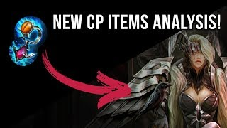 NEW CP ITEMS ANALYSIS + NEW BROKEN MYTH MATH | VAINGLORY | UPDATE 2.9