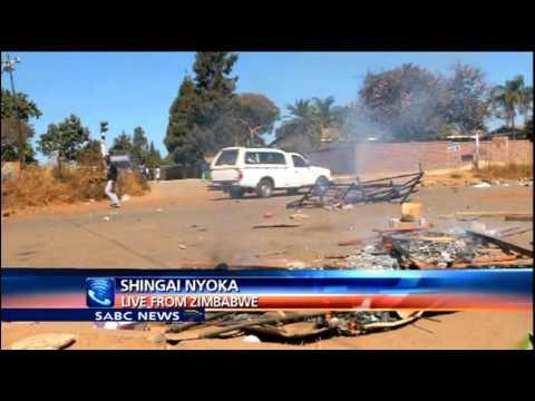 Latest on Zimbabwe protests