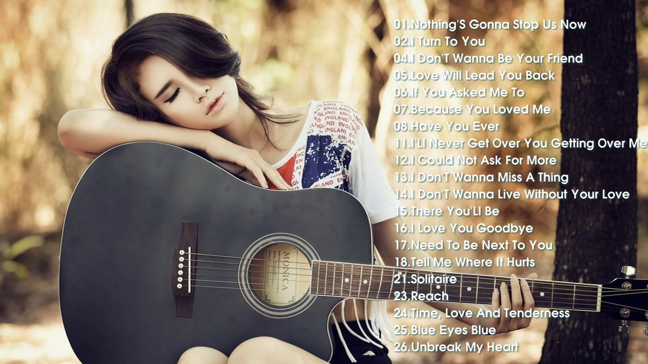Best acoustic love songs of all time
