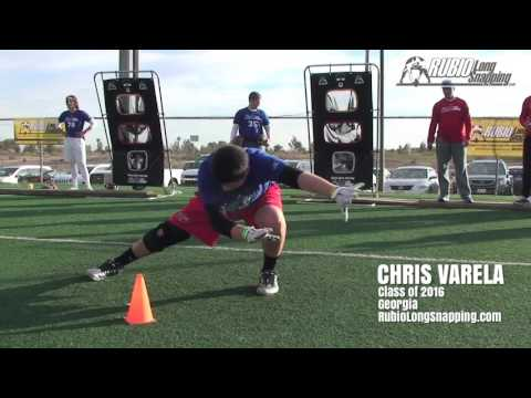 Chris Varela - Long Snapper