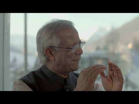 Hub Culture Davos 2017 -  Muhammad Yunus