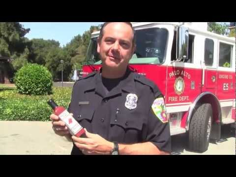 Palo Alto firefighter bottles pepper sauce for charity