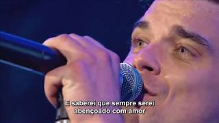 #ANGELS Robbie Williams (Live HD )Legendado